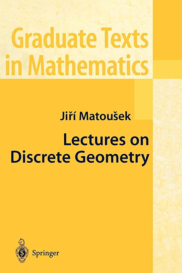 精巧な騒ぎ固めるLectures on Discrete Geometry (Graduate Texts in Mathematics)
