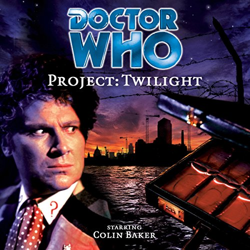 Doctor Who - Project: Twilight audiobook cover art