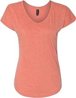 AV173F Ladies Tri-Blend V Neck T-Shirt