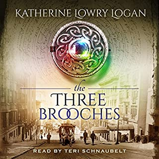 The Three Brooches audiobook cover art