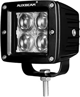Auxbeam 3 Inch LED Light Bar 20w LED Pods Fog Lights Square Cube Lights Spot Beam Driving Light for Offroad Truck 4WD SUV ATV UTV Waterproof (4D Projector Hyperspot)
