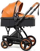 Carritos y sillas de Paseo El Cochecito de Dos vías del Cochecito de bebé del Choque del Alto Paisaje Puede Sentarse el plegamiento de Descanso Bebé Sillas de Paseo
