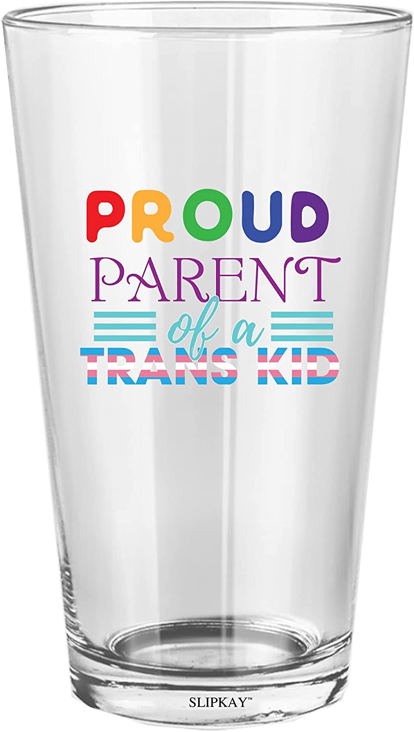 Proud Parent Of A Trans Pint Year-end annual account Oz Glass Kid It is very popular 16