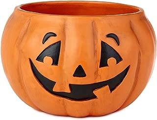 Halloween Jack-o'-Lantern Candy Bowl
