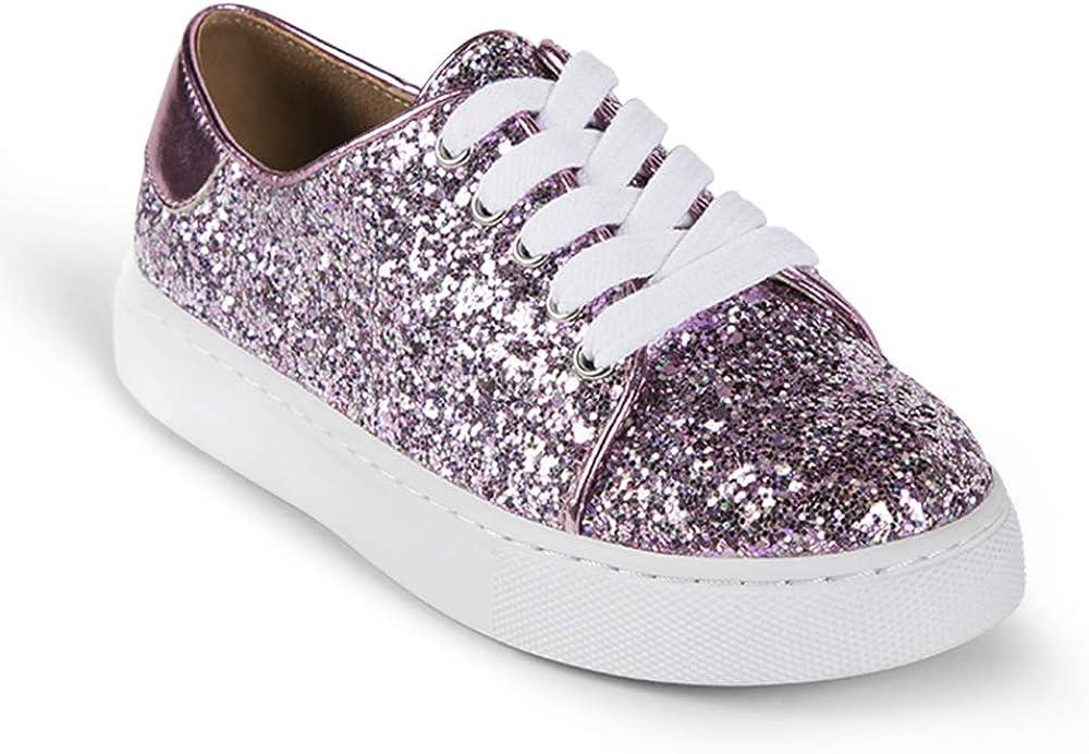 Yosi Samra Girls Miss Bowery Lace-Up Sneaker
