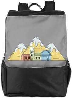 山のホウス バックパックリュック 大容量 メンズ バックパック カジュアルバッグ オシャレ旅行バッグ 通勤 通学 男女兼用バッグ 黒