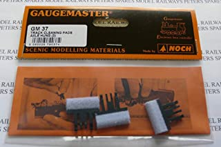 Gaugemaster GM-GM37 OO Scale Axle Hung Track Cleaning Pads (Pack of 3)