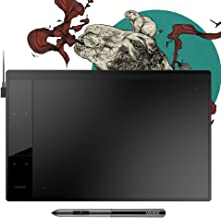 "VEIKK A30 Graphics Drawing Tablet with 8192 Levels Battery-Free Pen - 10"" x 6"" Active Area 4 Touch Keys and a Touch Pad"