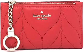 Kate Spade Briar Lane Quilted Mickey wallet in Hotchili