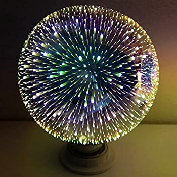 endless galaxy glass ball