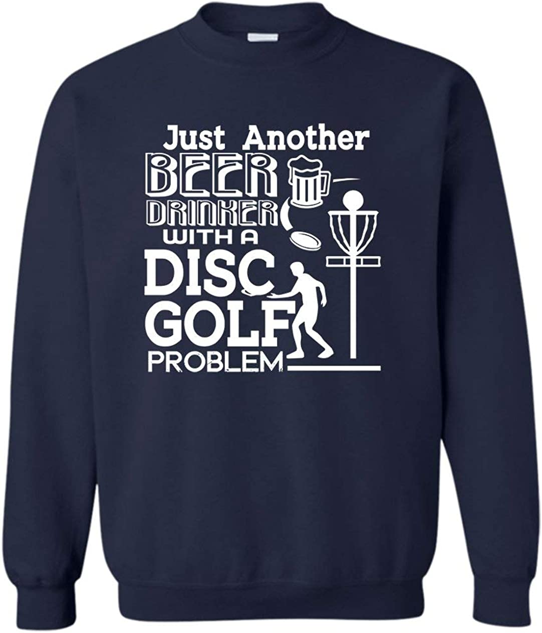 Six Banana Sacramento Mall Beer Drinker with Disc Golf Pullover Sweatshi Now free shipping Problem