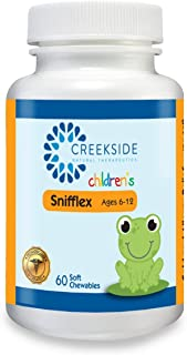 Sponsored Ad - Creekside Naturals Snifflex 6-12, Cold and Allergy Relief for Children, with Elderberry for Immune Support,...