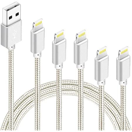 X 8 5 XR Plus 5S 6 Plus 6 6S SE 4Pack 3FT 2x6FT 10FT to USB Syncing Data and Nylon Braided Cord Charger for iPhone Xs Max Lightning Cable 7 Cordking iPhone Charger Cables 5C