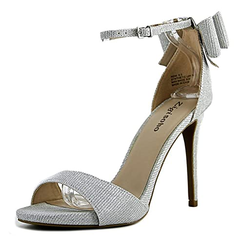d7eddad7ad2 Zigi Soho Remi Women Open Toe Synthetic Silver Sandals