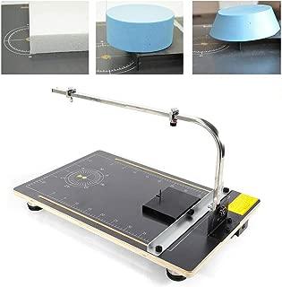 Fireproof Density Board + Alloy Foam Styrofoam Cutter Cutting Machine 110V 30W Hot Wire Cutter Thermocut Foam Cutting Machine for Sponge, Pearl Cotton, KT Board DIY Styrofoam Polystyrene
