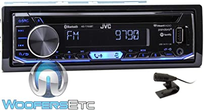 JVC KD-T700BT CD Receiver Featuring Bluetooth/USB/Pandora/iHeartRadio/Spotify/FLAC / 13-Band EQ