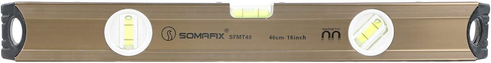 سومافيكس ميزان ماء لقياس درجة ميل الاسطح  , 40 سم - SFMT40