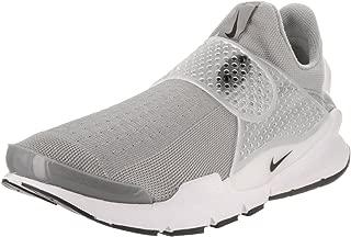 Men's Sock Dart Lightweight Knit Running Shoe (11 D(M) US, Medium Grey/Black/White)