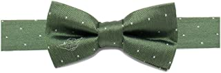 Cufflinks Inc。Boy 's Star Wars ?刺繍Yoda Micro Dot Silk Bow Tie ( Toddler / Little Kid / Big Kid )
