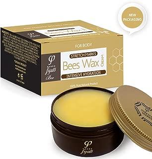 Crema Antiestrías con Cera de Abeja Orgánica, Aceite de