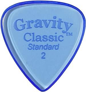Gravity Picks Classic - Standard Size, 2 Millimeter, Polished