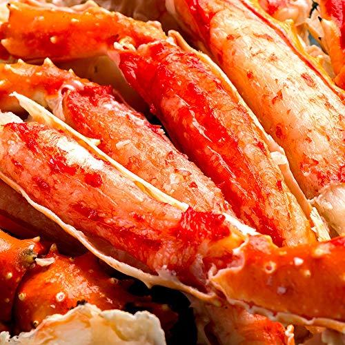 海夢 タラバガニ 特大 足 殻むき カット済 天然 たらば蟹 ハーフカット 約800g