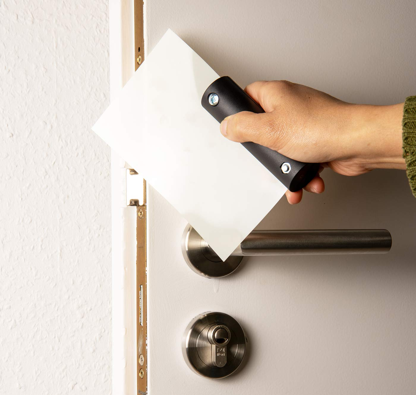 """Door Latch Opening Cards """"Super Mica"""" - 6 bypass sheets in one set"""
