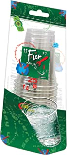 Fun® Everyday Disposable Clear Plastic Cup 12oz, Pack of 25