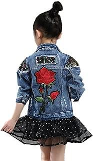 Big Girls Denim Jackets Outerwear