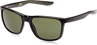 Nike Men's Rectangular Green Plastic Sunglasses - NKUNREST 203 57-19-145mm