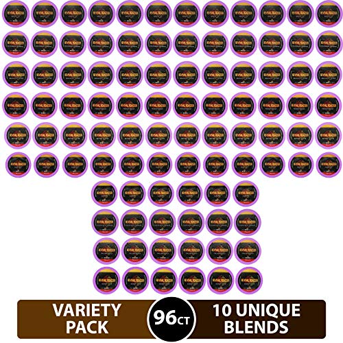 96-count Variety Pack Revival Roaster (10 amazing blends) Gourmet Roasted Coffee for Keurig K Cup Brewers (Keurig 2.0)… (Variety Pack)