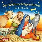 Die Weihnachtsgeschichte für die Kleinsten: Pappbilderbuch ab 18 Monaten - Julia Hofmann