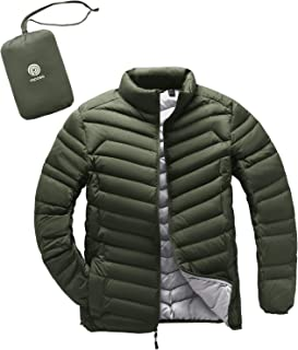 LAPASA Men's Packable Down Jacket Water Resistant with Zipper Pockets Lightweight Winter Outerwear Duck Down-Filled M32