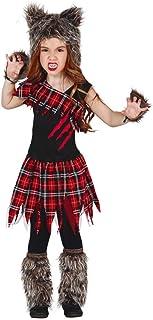 Horror-Shop Disfraz De Niña Lobo Escocesa M
