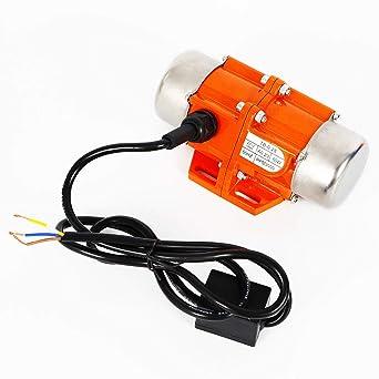 DE 1 40//50//100W Phase AC Vibration Motor Vibrating Asynchronous Vibrator 3000rmp