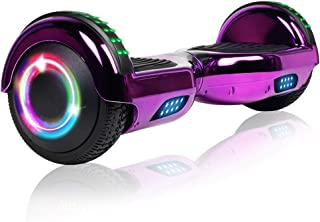 "Sponsored Ad - JOLEGE Hoverboard, 6.5"" Two-Wheel Self Balancing Hoverboards - LED Light Wheel Scooter for Kids"