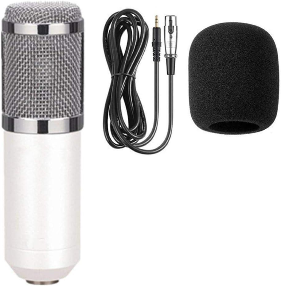 Schaumstoffkappe Kabel als Mikrofon Blue-package1 SFBBBO mikrofon Professionelles Kondensatormikrofon-Kit Mikrofon f/ür Computerhalterung