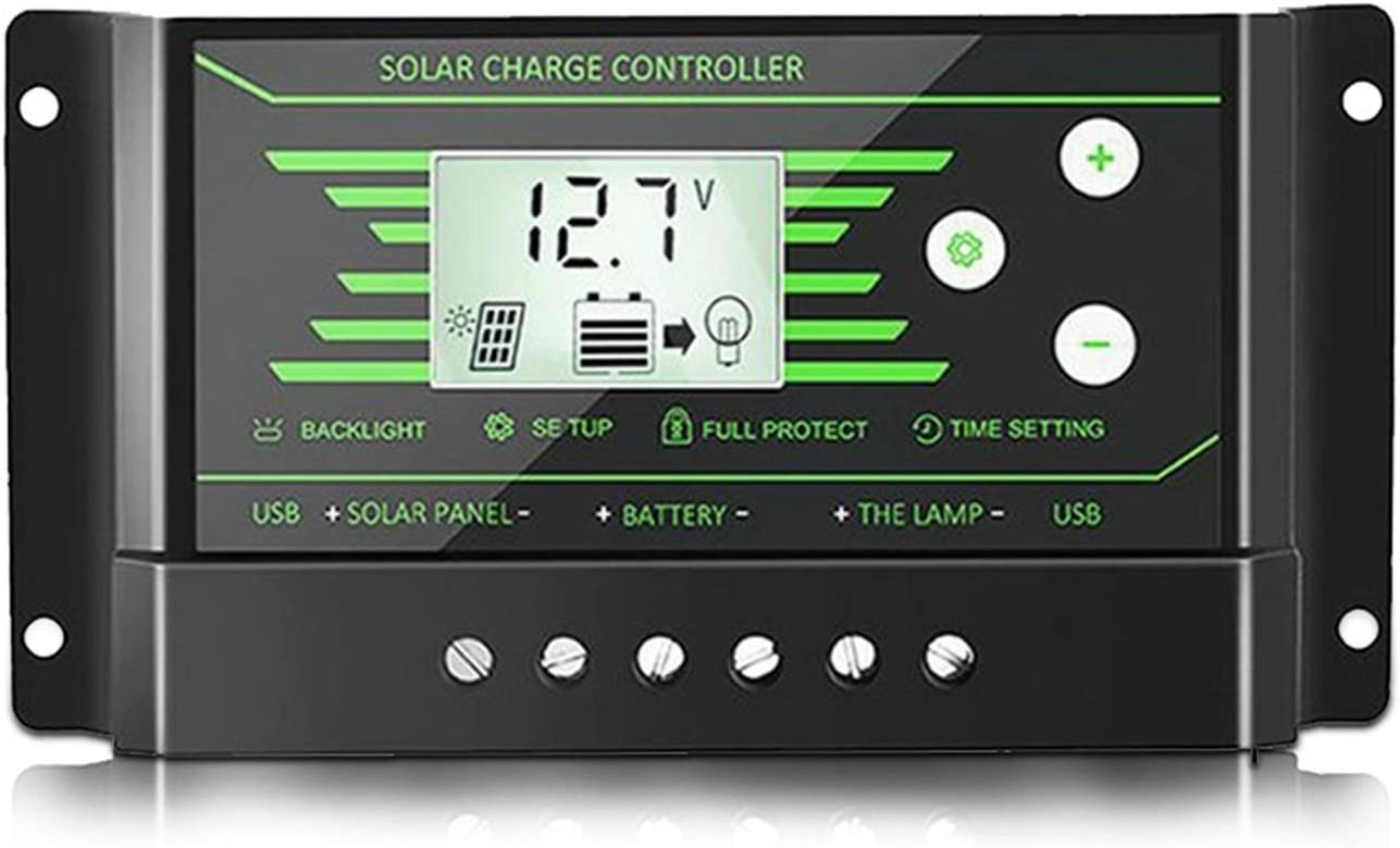 XIAOZHENG Auto Solar sold out Charge Controller 10A Controlle 20A Gifts 30A PWM