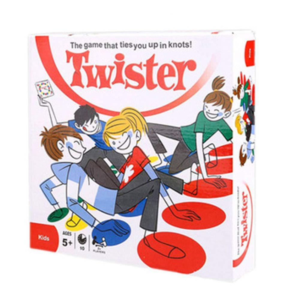 Eycierot Twister Juego Clásico - Body Balance Multijugador Juego Interactivo del Cojín para Niños De 6 Años Y Más De 2-4 Jugadores - Gran Regalo: Amazon.es: Deportes y aire libre