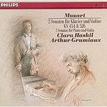 Mozart: 2 Sonatas for Piano and Violin, KV 454 & 526