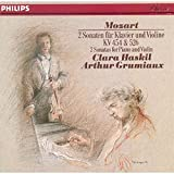 Mozart: 2 Sonatas for Piano and Violin, KV 454 & 526
