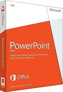 Microsoft PowerPoint 2013 Key Card (1PC/1User)