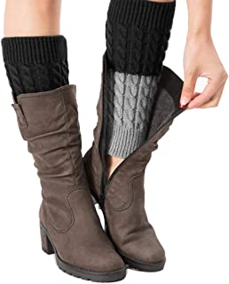 crochet boot leg warmers