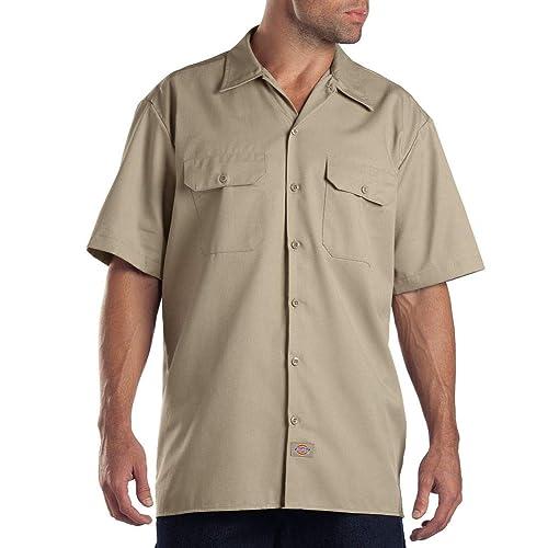 0f4c473a549 Dickies Men s Short Sleeve Work Shirt