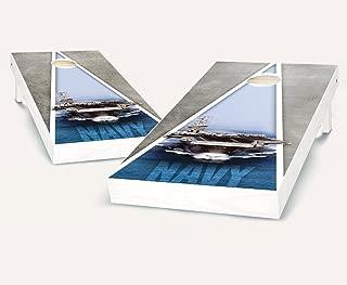 US Navy Cornhole Boards with Set of 8 Cornhole Bags