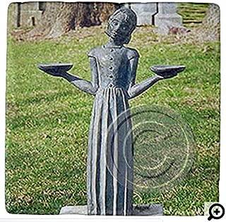 ORIGINAL Bird Girl, In Cemetery, Coaster. Savannah Coasters, Savannah Georgia, Mix and Match to make a set and save on shipping