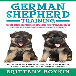 German Shepherd Training audiobook cover art