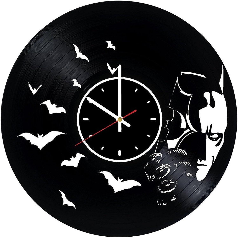 Design Batman Vinyl Wall Clock DC Comics Great Gift Men, Women, Kids, Girls Boys, Birthday, Christmas Beautiful Home Decor - Unique Design That Made Out Vinyl LP Record