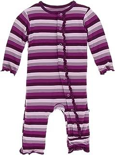 Kickee Pants Baby Girls' Print Muffin Ruffle Coverall Prd-kpmrc499-ppsy