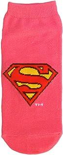 スーパーマンソックス アイコン ピンク 22cm~24cm WBSP195J